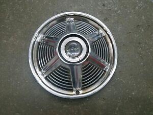 """Ford OEM 1964 1964.5 1965 Mustang 14"""" Chrome Metal Hubcap Hub Cap Wheel Cover"""
