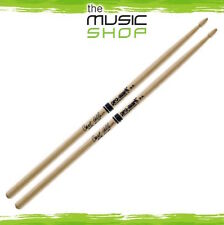 Set of Promark Hickory 9A Carl Allen Drumsticks with Arrowhead Wood Tips - TX9AW