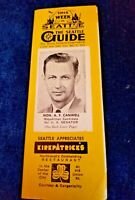 This Week In Seattle The Seattle Guide SEPT 9 1950 Vintage Ads Vintage Brochure