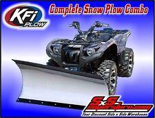 "KFI ATV 60"" Tapered Snow Plow Blade Mount Kit Combo Honda TRX420 Rancher 2007-13"