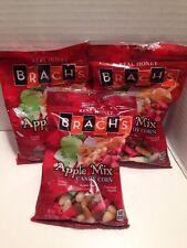 3 X Brach's Apple Mix Candy Corn 4.2 oz Bag New & FRESH FOR 2017