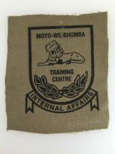 Rhodesia/ Rhodesian Army Training Centre Internal Affairs Cloth Patch
