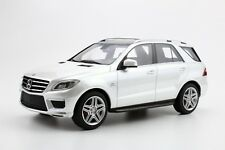 LS Collectibles 2012 MERCEDES BENZ ML 63 AMG WHITE 1:18 Rare Find!*Nice!