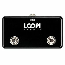 Dual Momentary Soft Switch Big Footswitch - Normally Open - Loopi Pedals