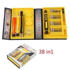 38 in 1 Tool Repair Mobile Cell phone Pc Screwdriver Kit set Pentalobe & torx UK