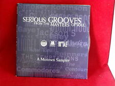 A MOTOWN SAMPLER~ SERIOUS GROOVES FROM THE MASTERS OF SOUL~RARE~ PROMO ~CD