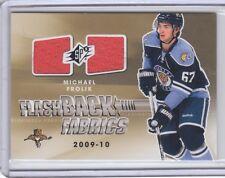 2011-12 SPx #229 Michael Frolik Flashback Fabrics Jersey case card 1:1,146 packs