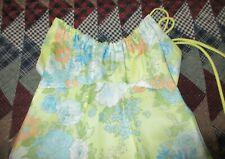 Vintage Hippie Boho Chic Floral Halter Maxi Dress - Prom - 1970's - 5/6