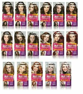 Delia Cameleo Temporary Hair Colour Shampoo Dye Sachet 4 to 6 Washes Wash Out