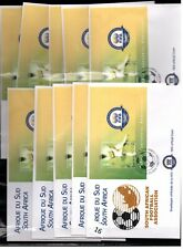 / SOUTH AFRICA - 10 FDC - SPORTS - SOCCER - FIFA 2004 - WHOLESALE