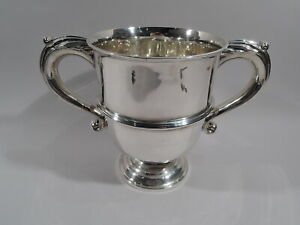 Victorian Trophy Cup -  Antique Neoclassical Urn - English Sterling Silver