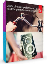 Adobe PhotoshopElements12&PremiereElements12 (Lizenz + Medien) (1) - Vollversion für Windows, Mac 65226247 -OEM