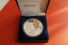 *Cook Islands 1 Dollar 2005 Silber/Farbe PP (1 Oz) * Johannes Paul II.1920-2005