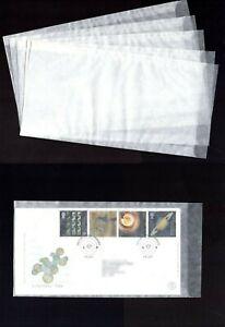 LINDNER Protective GLASSINE ENVELOPES 125 x 230mm Brand New  ♺  FREEPOST Ref:714