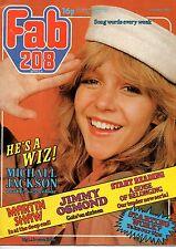 Fab 208 Magazine 21 April 1979   Michael Jackson   The Professionals Martin Shaw