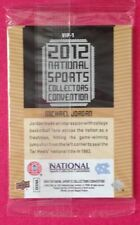 2012 National Convention Upper Deck VIP Pack Jordan Lebron Woods Gretzky Crosby