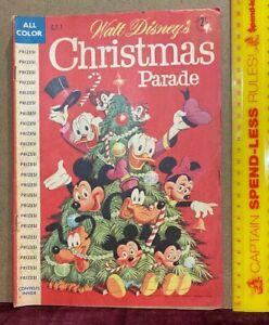 VINTAGE 1959 WALT DISNEY'S CHRISTMAS PARADE CP7 COMIC AUSTRALIA TONS OF TOY ADS!