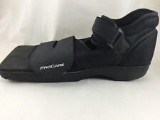 Procare Medical Shoe Foot Surgery Large Black Velcro