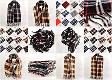 30 accessory scarf wholesale lot mens and unisex plaid checked scarves