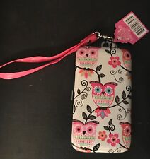NEW iPhone 5 Mary Beth PINK CHANDELIER Bytech Wallet Case Owls