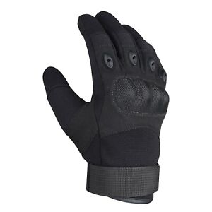 X-PRO Motorcycle Gloves Hard knuckle Tactical Combat Paintball Police Biker