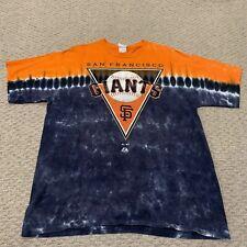 San Francisco Giants Tie Dye T Shirt Majestic MLB Baseball Mens XL