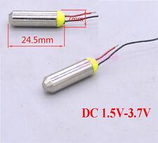 DC 1.5-3.7V Mini Waterproof Vibration Motor Coreless Motor Vibrator For Massager