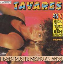 7inch TAVARESheaven must be missing an angel BEN LIEBRAND MIXholland   (S2306)