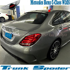 Color 040 Black OE TYPE ROOF SPOILER FOR MERCEDES BENZ W205 2014-18 C450 C250