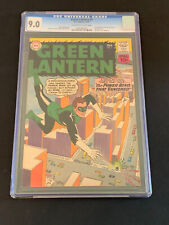 Green Lantern #5 CGC 9.0! 1st app Hector Hammond !! No Reserve ! Rare Grade