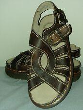 Doc Dr Marten #8329 NWOB England Brown Leather Buckle Sandals Women's 6 US/UK 5
