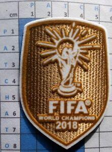 Patch badge foot World champions maillots away de l'équipe de France 2018