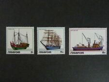 Singapur Michel 167 - 169 von 1972 -  Schiffe & Boote, postfrisch