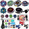Rare Rapidity Beyblade 4D Fusion Top Metal Masters Fight Launcher Grip Toy Set
