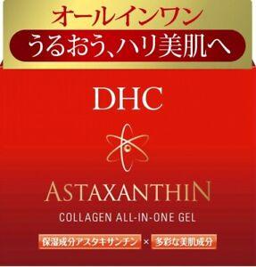 New DHC Astaxanthin Collagen All-in-one Gel Moisturizer 80g Free Shipping