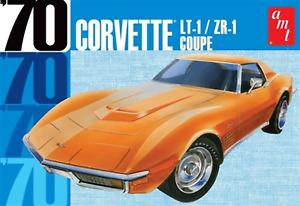 AMT1097 1970 Chevy Corvette Coupe 1:25 Scale Plastic Model Kit