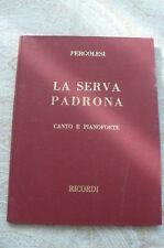 """""""LA SERVA PADRONA"""" deJ.B. PERGOLESE"""