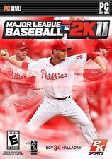 Major League Baseball 2K11 PC Games Windows 10 8 7 XP Computer MLB 2K11 2 k 11