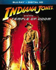 Indiana Jones Temple Doom Blu-ray & Digital Copy Eng. French Portuguese Spanish