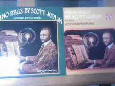 Piano Rags by Scott Joplin Vol 1 & 2 Joshua Rifkin/Nonesuch 2 Nice LP's UK press