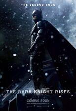 "The Dark Knight Rises movie poster  : Christian Bale : 11"" x 17"" Batman poster"