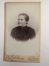 Karlsruhe - 1900 - Frau im Kleid - Portrait / CDV