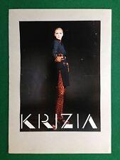 PX213 Pubblicità Advertising Werbung Clipping 27x20 cm - KRIZIA FASHION MODA