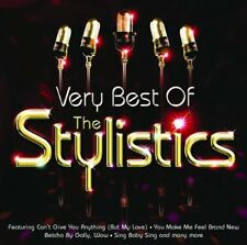 THE STYLISTICS: THE VERY BEST OF 21 TRACK CD GREATEST HITS / NEW