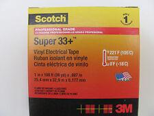 3M Scotch™ Super 33+ Elektro-Isolierband  schwarz  25mm x 33m
