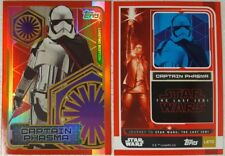 JOURNEY TO Star Wars THE LAST JEDI LIMITED EDITION Card LETC Captain Phasma 2017