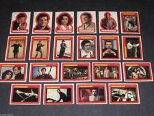 James Bond 007 Moonraker - Complete Sticker Card Set (22) - 1979 Topps - NM