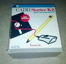 "Generic CADD Level 2 Starter Kit Version 1.1  5.25"" Floppy Disks for DOS 2.0"