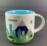 Starbucks Coffee Mug Denver You Are Here Collection 14 OZ Never Used Tea Kitchen
