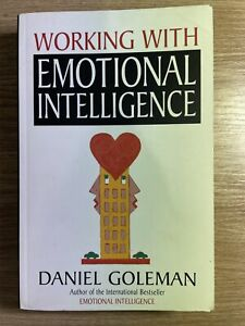 Working with Emotional Intelligence By Daniel Goleman Paperback